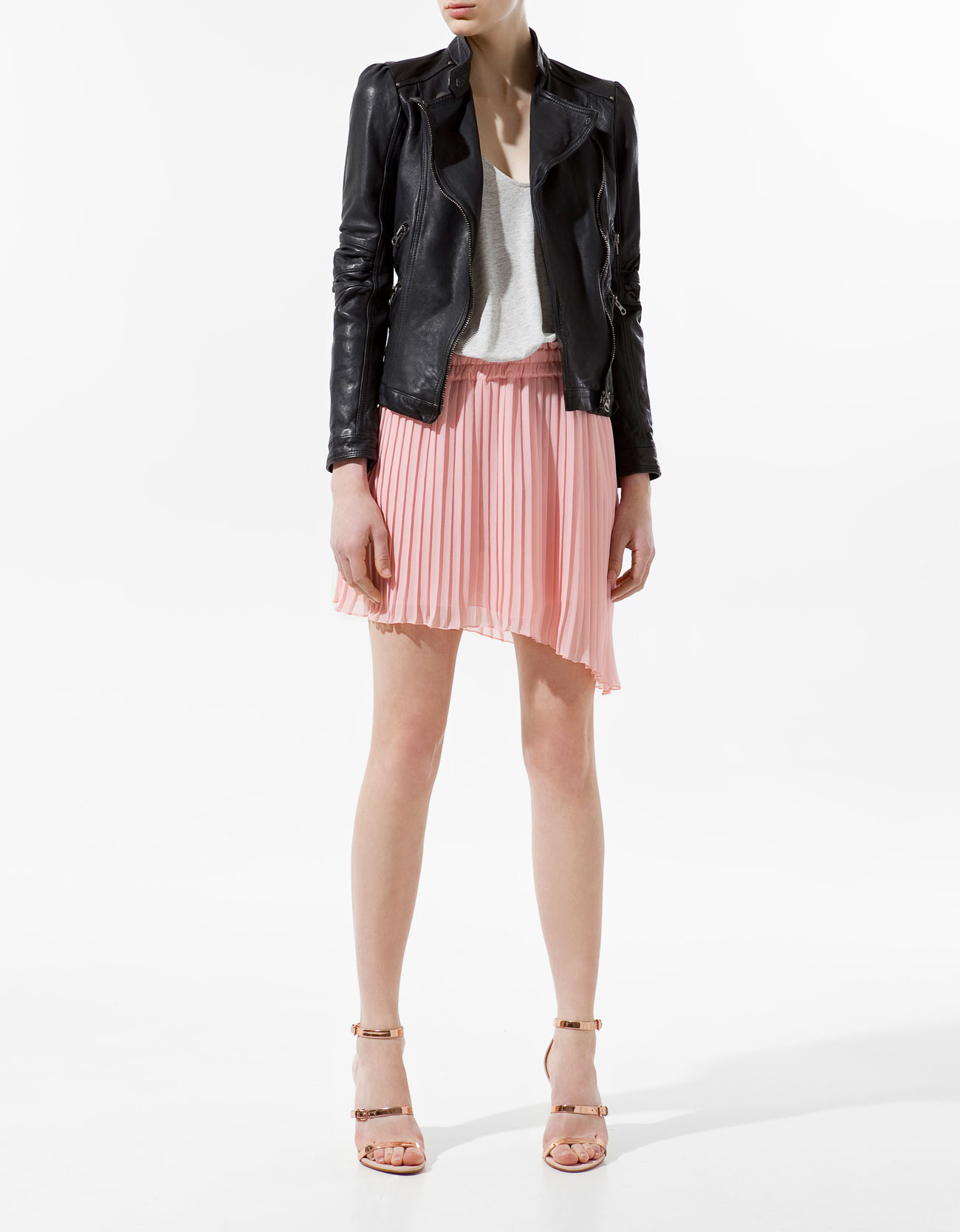 Zara Leather Jacket 20